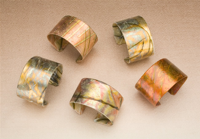 Margaret Dorfman Vegetable Parchment Jewelry
